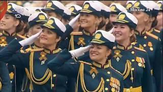 Москва. Салют 9 мая 2019. Зарядье. Полное видео