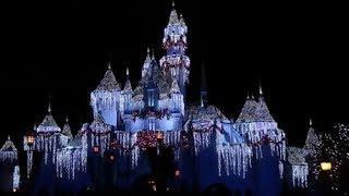 Disneyland Vlog Day 2 Part 5 Holiday Fireworks and Plaza Inn