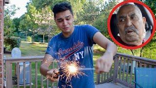 MUJH SAI GHALTI HOGAI.. (Fireworks fail)