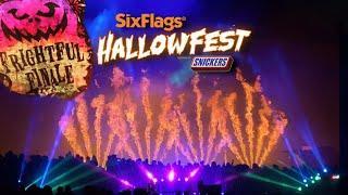 Hallowfest Frightful Finale Fireworks| Six Flags Fiesta Texas | San Antonio, TX