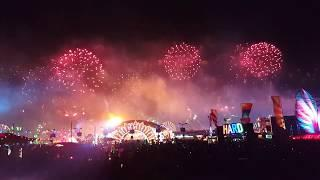 Edc Las Vegas fireworks 2019 cosmic meadow view