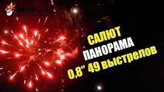 "Салют ""Панорама"" арт. FP B104 калибр 0,8""' 49 выстрелов"