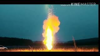 Что будет если поджечь 10000 бенгальских огней...