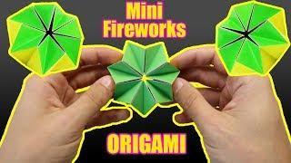Origami MAGIC: mini FIREWORKS - Yakomoga Easy Origami