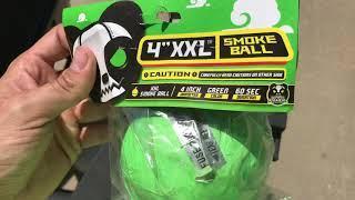 "4"" XXL Smoke Ball by Red Apple Fireworks"