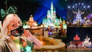 Thanksgiving 2020 at Disney's Magic Kingdom! FIREWORKS, NEW Photo Op, Astro Orbiter at Night!