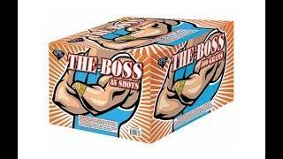 FCC1721 THE BOSS 35 SHOT - HOT FIREWORKS