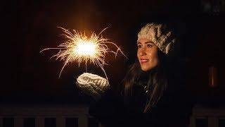 Приемы для Новогодней фотосъемки. Съемка с бенгальскими огнями