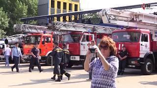 первый день Чемпионата по пожарно-прикладному спорту - 02.07.2019