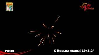 """Салют """"С новым годом"""". 19 залпов"""