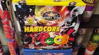 Fireworks Demo (500 Gram Cake) - Hardcore Rock (Bright Star)
