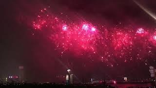 Chinese New Year Fireworks 2019 in Hong Kong