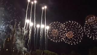 2018 Happy Hallowishes Fireworks Show