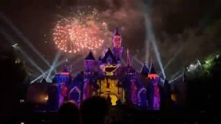 Mickey's Mix Magic With Fireworks Front Of Castle View 2020 - Disneyland - Live Stream