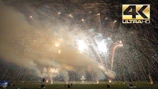 ⁽⁴ᴷ⁾ Burning Airfield 2018: AP Feuerwerk Demo Finale Fireworks - Vuurwerk