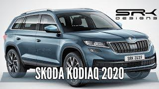 Skoda Kodiaq 2020 - Rendering - Making Video | SRK Designs