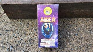 Area 51 1/2 fountain by World Class Fireworks