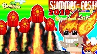 Launching More Super Fireworks! More Phoenix Hairs!? | Growtopia [SummerFest 2019]
