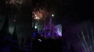 Disney world 2018 night time fireworks