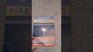 Waitrose Fireworks Leaflet 2019