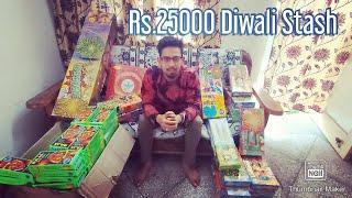₹25,000 Diwali Stash 2019 | Dussehra Crackers Stash 2019 | Diwali Fireworks Cheapest price in Delhi