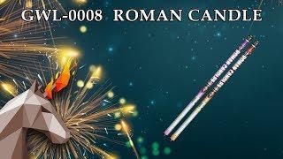 "GWL0008 Roman Candle (0.8"" х 10) пиротехника оптом ""ОГОНЕК"""