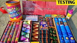 Different Type of Fireworks Testing 2021 | Diwali fireworks testing | Cracker Testing | Fireworks