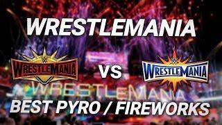 WrestleMania 35 vs WrestleMania 33 Fireworks/Pyro Comparison!