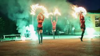 Огненное шоу и пиротехника - Соланж 2019