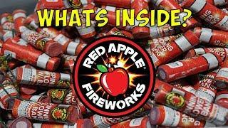 Red Apple Fireworks Sells Legal Salutes? LOUD Bang Spinners Demo and Teardown - Whats Inside? WOW!