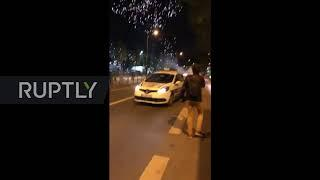 France: Fireworks used against police as unrest continues in Paris suburb