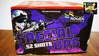 Special Ops 52 Shots Vuurwerk Cake Salon Roger Fireworks NIEUW 2018!