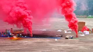 Цветной дым (напольный) MA0510 Красный Firedragon.by