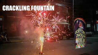 Lucky Circus Crackling Fountain by Phoenix Fireworks Manila Philippines Fiesta 2020