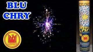 Blue Cherry from Cornation Fireworks - Blu Chry Medium Size Aerial Shell