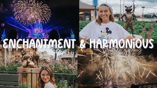 NEW FIREWORKS AT WALT DISNEY WORLD // enchantment & harmonious