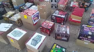 Behind the scenes at Area 51 fireworks 2019 demo day