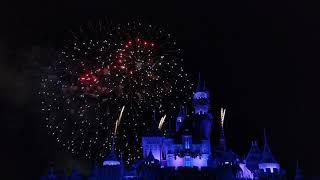 New Year's Eve Fireworks at Disneyland