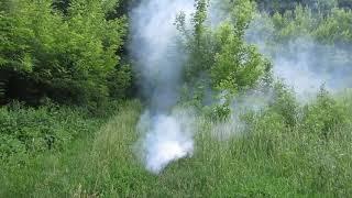 Дымовая шашка безсопловая 10% парафина с каналом и без его.