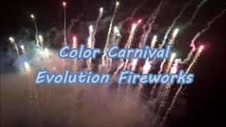Color Carnival 108 Shots - Evolution Fireworks - Oud en Nieuw 2019/2020