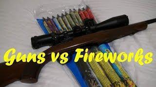 Guns vs Fireworks