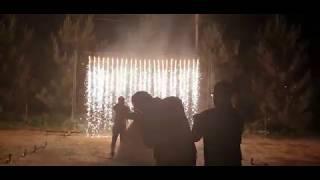 Пиротехнические вертушки Солнышко, холодные фонтаны и водопад в Ростове, ресторан Донская Роща