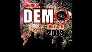 Intergalactic Fireworks Demo 2019 Full Length w/setup pics/finale