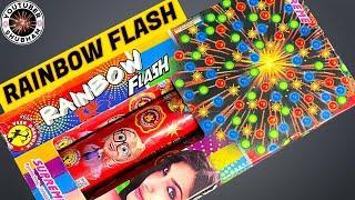 RAINBOW FLASH from Supreme Fireworks - Small Sky Shot Cracker Testing
