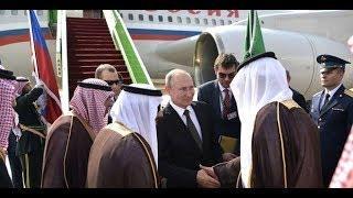 Салют и конные всадники! Путина встретили в Саудовской Аравии на ВЫСШЕМ УРОВНЕ