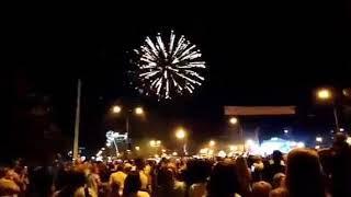 Салюты на день города Обнинск 2019
