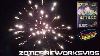 Plasma Attack [LIDL] Standard Fireworks (16 Shot) - ZoticFireworksVIDS