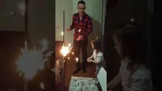 Новый Год 2019. Бенгальские огни.Хлопушки конфетти.