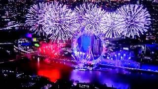 London New Year 2019 Fireworks Big Ben Countdown