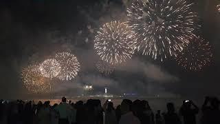 UAE 47th National day Fireworks in corniche Abu Dhabi 2nd December Full HD